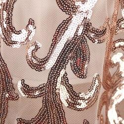 Cekiny kurtka kobiety z długim rękawem festiwal złota kurtka chaqueta znosić klubowa szczupła eleganckie panie topy długa strona peleryna 3