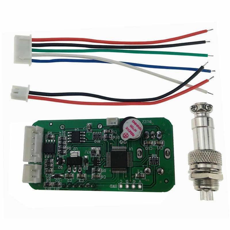 KSGER V2.0 Temperatur STM32 OLED Bildschirm Controller 9501 Löten Griff Set 5 Core Silikon Draht Mit Batterie Langlebig