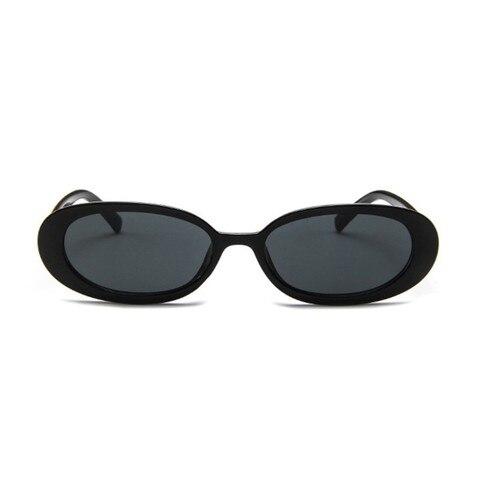 Style Oval Sunglasses Women Vintage Retro Round Frame White Mens Sun Glasses Female Black Hip Hop Clear Glasses UV400 Lahore
