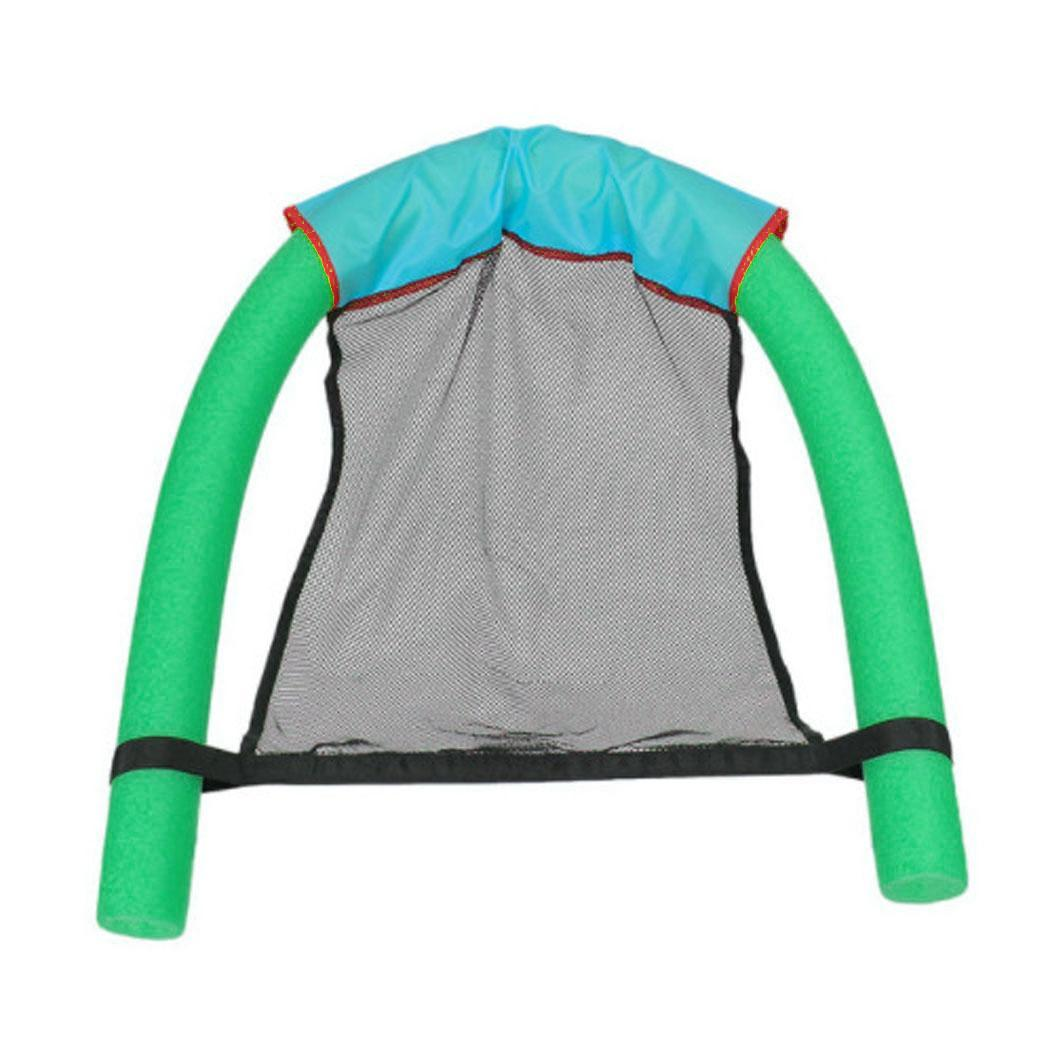 Confident Swimming Pool Float Chair Soft Comfortable Inflatable Adult Seats Blue, Green, Red, Yellow