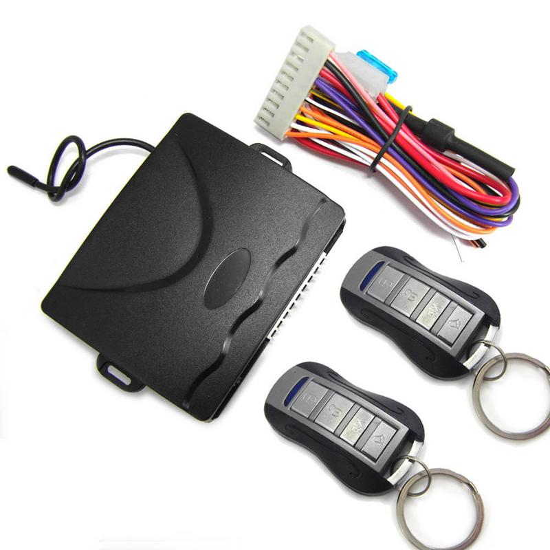 Car Central Locking Anti-theft Device Car Keyless Entry System Anti-theft Device For 12V DC Car Which Have Central Door Lock