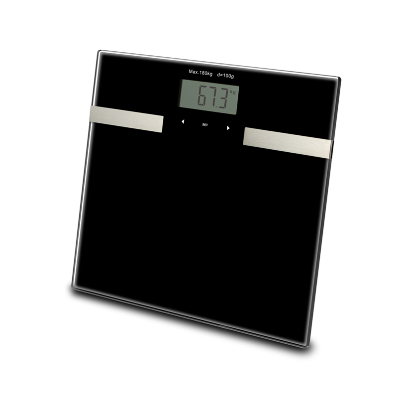 Smart Touch Weight Measure 400Lb/0.1Kg Digital Scale Track Body Weight Bmi Fat Water Calories Muscle Bone Mass Bathroom