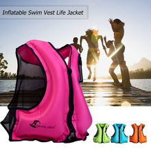 Adult Adult Life Vest Swim Vest Life Jacket for Snorkeling Floating Device Swimming Drifting Surfing Water Sports Life Saving