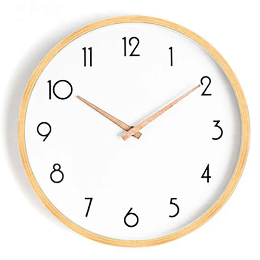 Nordic Wall Clock Home Living Room Modern Minimalist Wall Watches Home Decor Wall Clock Silent Mechanism Best Selling 2019 5Q141