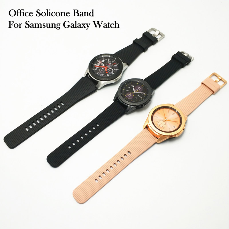 Newest Office Watch Band Strap For Samsung Galaxy Watch 42mm 46mm Wrist Straps Watchbands Correas de reloj|Watchbands| |  - title=