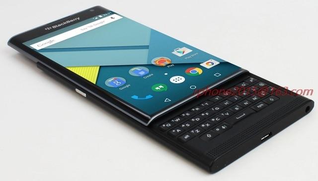 Refurbished Original BlackBerry Priv 5.4 Cellphone Android OS 3GB RAM 32GB ROM 18MP Unlocked Slider Cellphone
