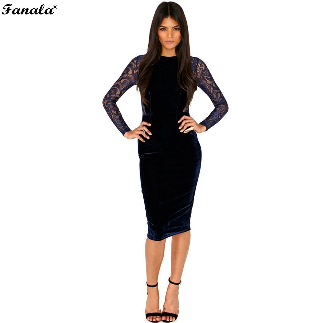 cad93eac31c ... Zipper Clubwear Party Sleeve Patchwork Back Sheer Slim Closure Sexy  Dresses Dress Casual Bodycon Lace Women. Previous