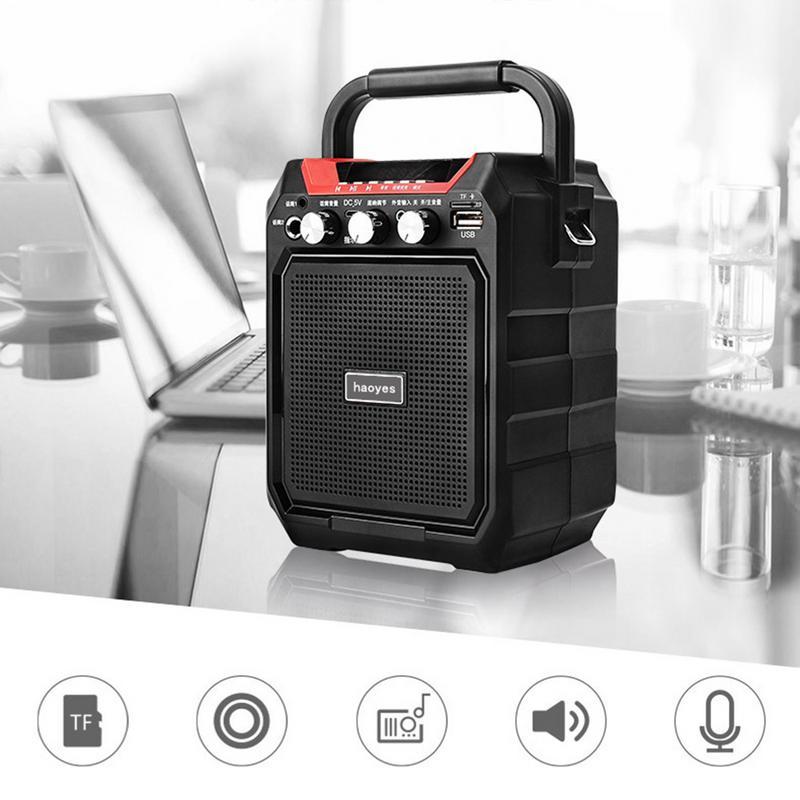 Behendig K99 Draadloze Draagbare Bluetooth Luidspreker Subwoofer Mobiele Outdoor Usb Afspelen Fm Radio Met Afstandsbediening Bass Subwoofer Sterke Verpakking