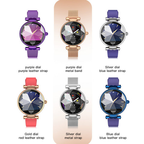 H3 Women Smart Watch Fashion Ladies Watches Female Heart Rate Monitor Blood Pressure Fitness Activity Tracker H2 H1 Smartwatch Lahore