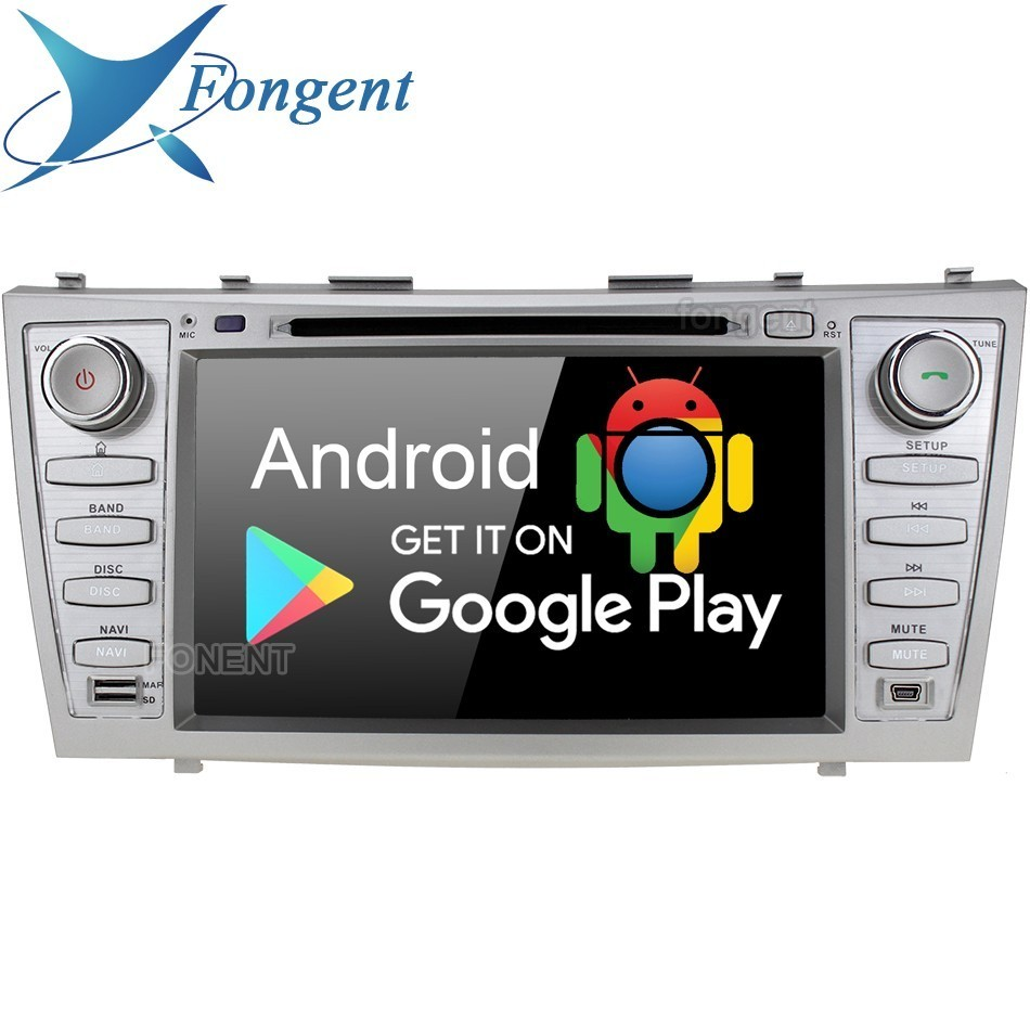 "8"" IPS Android 9.0 Unit Car DVD Stereo Multimedia Player for Toyota Aurion Camry 2007 2008 209 2010 2011 Radio GPS Audio 4+64GB"