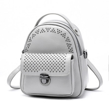 Witfox Shoulder Bag Mini Messenger Multifunction Women Rivet Students College Style Transparent Luxury Bags