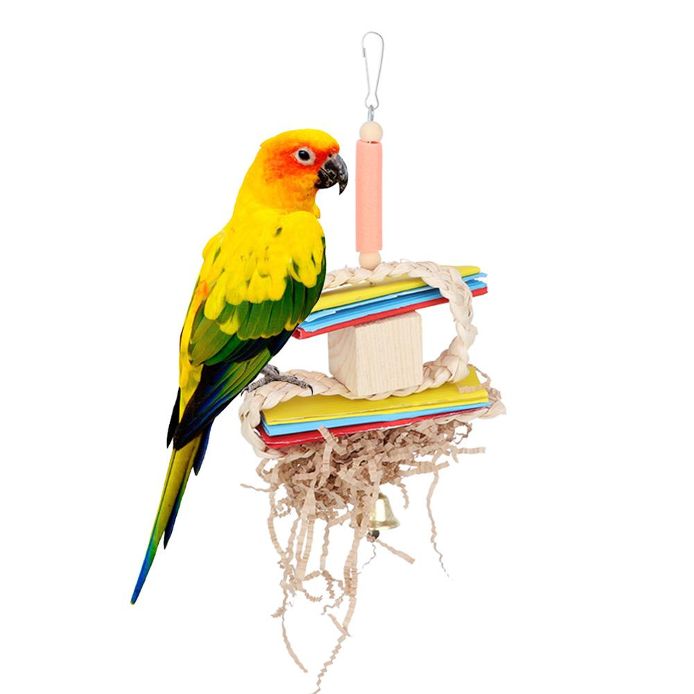 Bird Supplies Toys Large Parrot Chewing Hanging