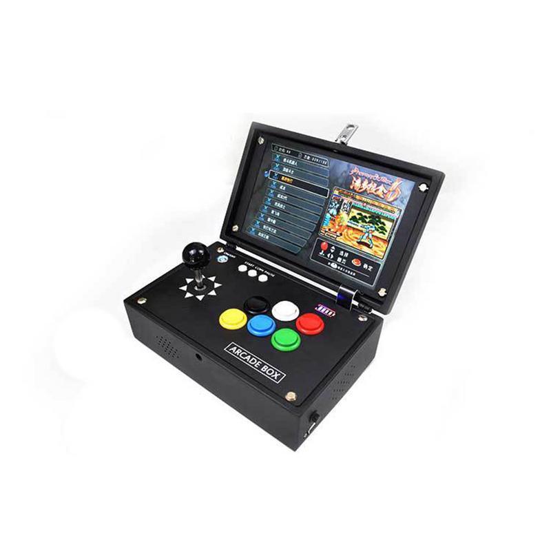 10 Inch Game Machine Portable Mini Portable Home Console Flip Arcade 3D Moonlight Treasure Box Japanese Pandora Case