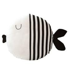 Маленькая подушка-рыба Подушка Детская комфортная подушка со спящей куклой плюшевая фигурка рыбы для детей подарок