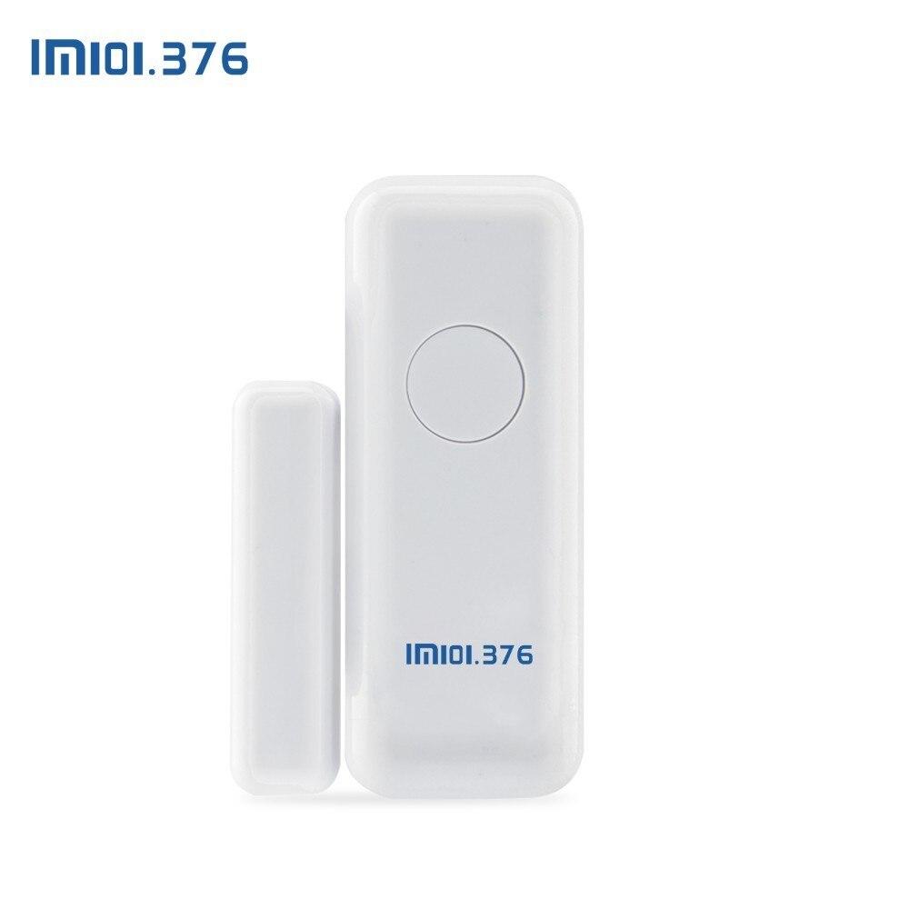Détecteur de capteur d'aimant de porte de fenêtre sans fil de LM101.376 433MHz pour le système d'alarme sans fil à la maison - 5