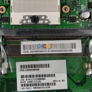 Image 3 - V000238060 6050A2381501 MB A02 ワット 216 0774009 GPU HM55 東芝 C600 C640 ノート Pc マザーボードのメインボード