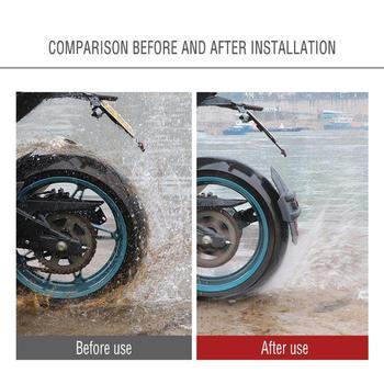 Uchwyt motocyklowy błotnik motocyklowy odblaskowy Ornament osłona tylnego koła osłona rozbryzgowa akcesoria do Honda