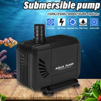 15/35/40/45W Submersible Fish Water Pump Pond Aquarium Tank Pool Waterfall Fountain Sump Water Pump EU Plug 1500/2500/3000/3500L