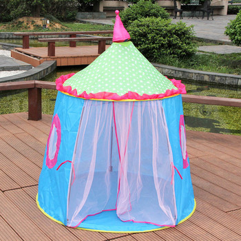 Anti Mosquito Curtain Net Castle Children Tent House Of Games For Kids Funny Portable Tent Baby Playing