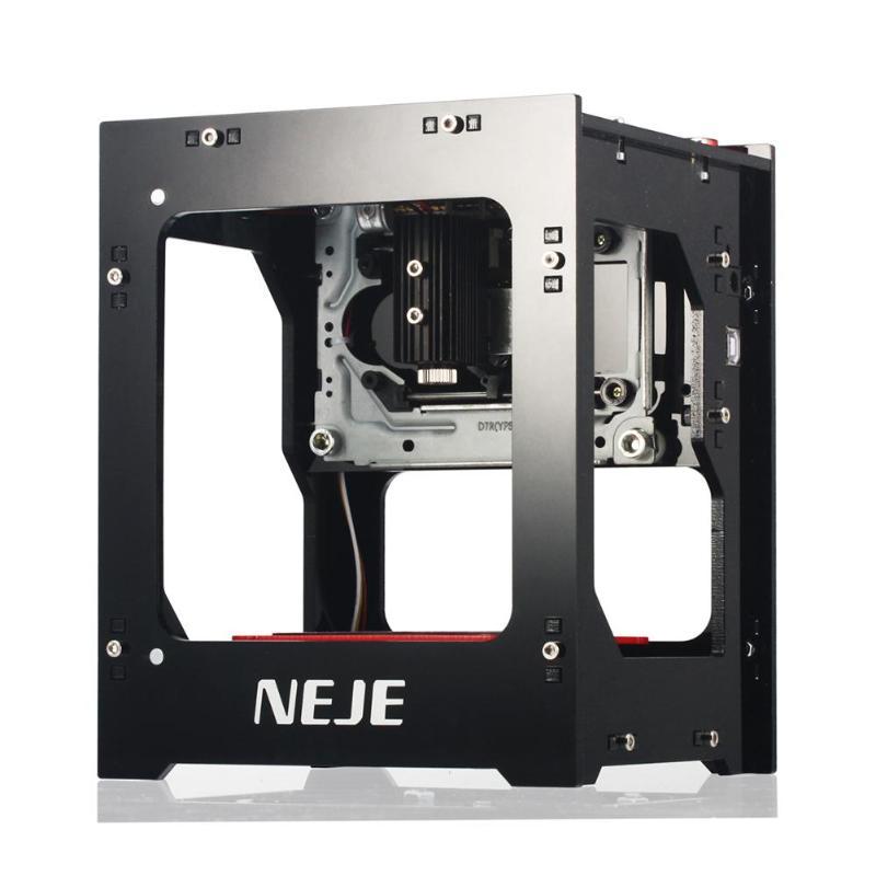 Efficient Neje Dk-8-kz High Power 3d 1000mw Usb Laser Diy Engraver Printer Automatic Engraving Cutting Machine Diy Print Laser Engraver