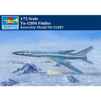 Trumpeter 01687 1/72 Russian Tu-128M Fiddler Fighter Intercepter Airplane Kit