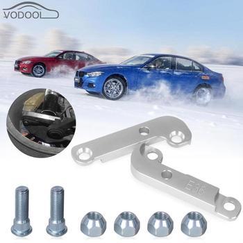 Adaptador de Ângulo Aumentando Turn Cerca de 25% Deriva Kit de Bloqueio para BMW E36 Prata Carro de Corrida Profissional Acessórios Do Carro Peças de Reposição