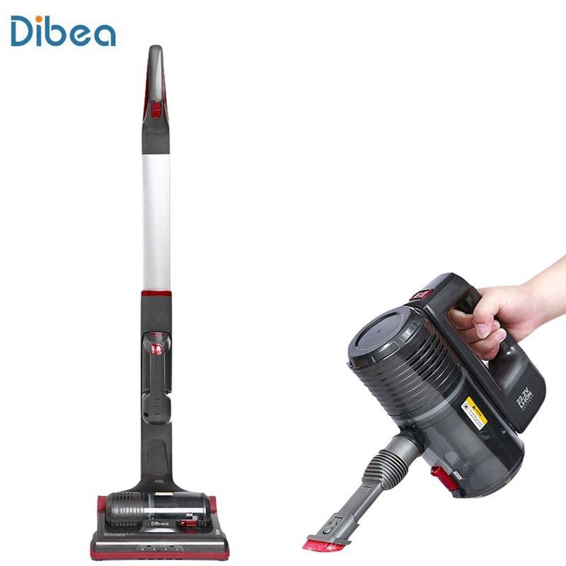 Dibea LB006 2 en 1 aspirateur à main multifonction accueil Vertical filtre centrifuge à plusieurs étages aspirateurs sans fil