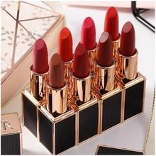 Make up High Quality Lipstick Moisturizing does not fade Long lasting Waterproof Matte Set