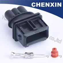 Black 3 pin EFI waterproof Fuel Injector auto connector EV1(3.5)male 1-962581-1 automobile power timer JPT wire auto connector