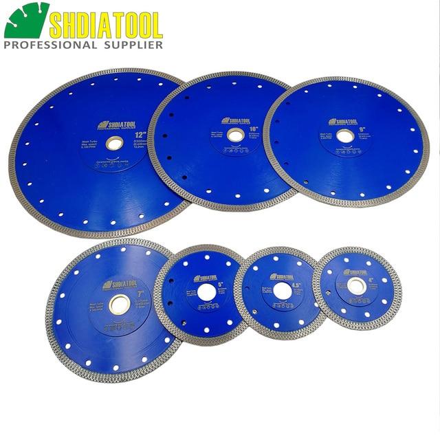 "Dia 4"" 4.5"" 5"" 7"" 8'' 9"" 10"" 12"" Hot pressed sintered X Mesh Turbo Diamond Saw blade circular Cutting Disc Marble Tile Ceramic"