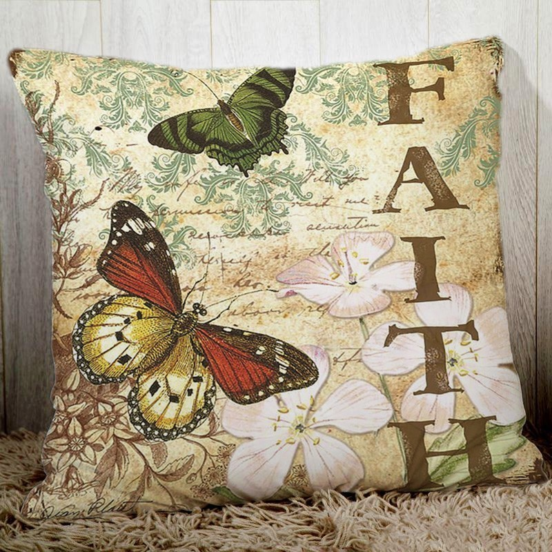Роскошная меховая наволочка меховая подушка с лисой наволочки для декоративных подушек подушки для домашнего декора Almofadas Housse de coussin - 4