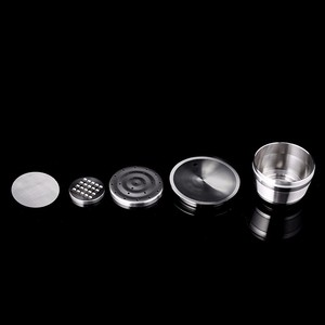 Image 5 - Dolce Gusto cápsula reutilizable Dolce Gusto, cápsulas rellenables de acero inoxidable
