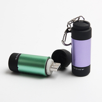 Mini Portable Rechargeable LED Flashlights Powerful Torch Doctor Medical Auto Repair Outdoor Hard Light USB Flashlight 5 Colors
