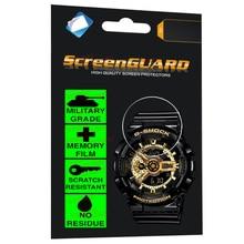 Military Grade Cool Classic Anti-Shock Film for Casio Watch G-Shock Analogue Digital LED Alarm Date Sports WristWatch Ga-110Gb-1 casio g shock g classic ga 110mb 1a