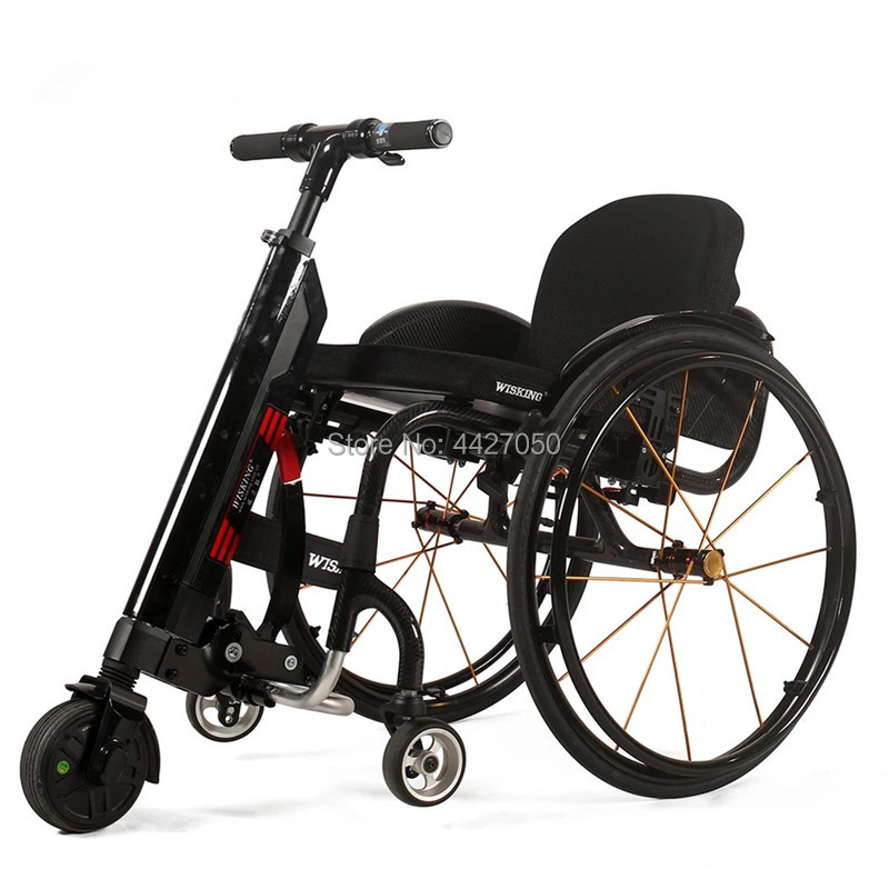 Professional Manufacturer CE Certified handcycle wheelchair Q5 wheelchair trailer spare part for disabaled