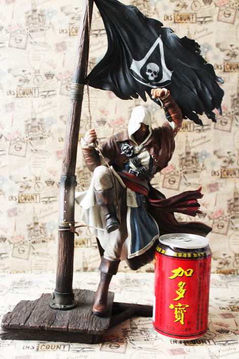 Black Flag Edward Kenwei Doll Action Collectible Statue Toy Figure Action & Toy Figures
