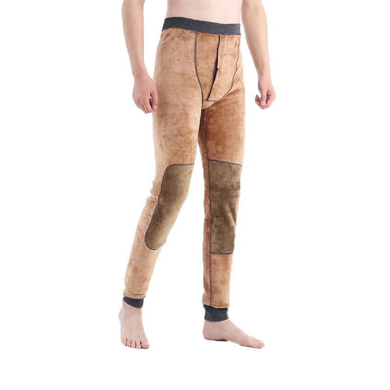 Thermo Thermal Underwear Just For Height 186-200cm Tall People Men Length 120cm Winter Heated Warm Johns Pants Male Plus Long