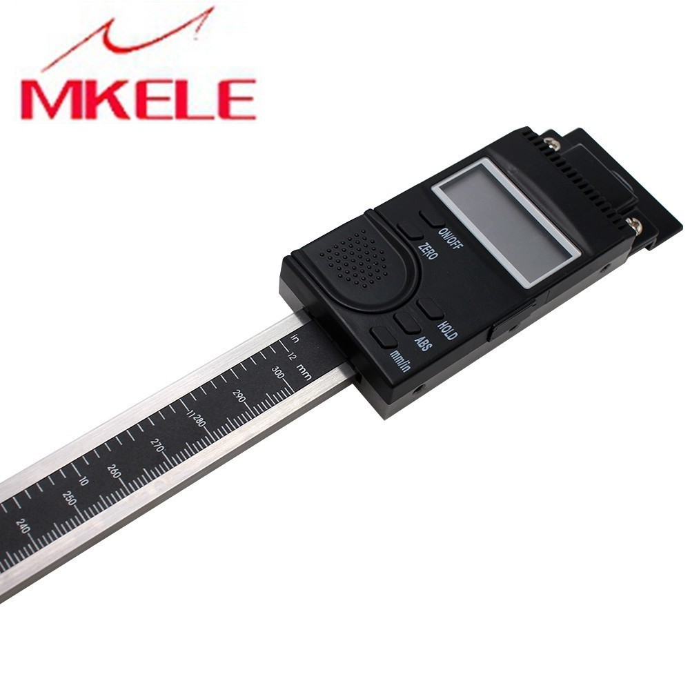0 300mm Scale Vertical Type Digital Linear Scale 0 01mm Vertical Scale Caliper High Accuracy in Level Measuring Instruments from Tools