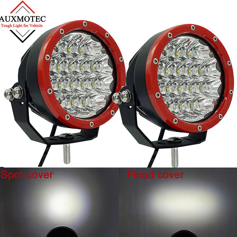 60 W a mené la barre de lampe Led tout-terrain automatique de voiture de l'inondation 12 v 24 v de tache de lumière de travail pour 4X4 outre de la route 4WD ATV