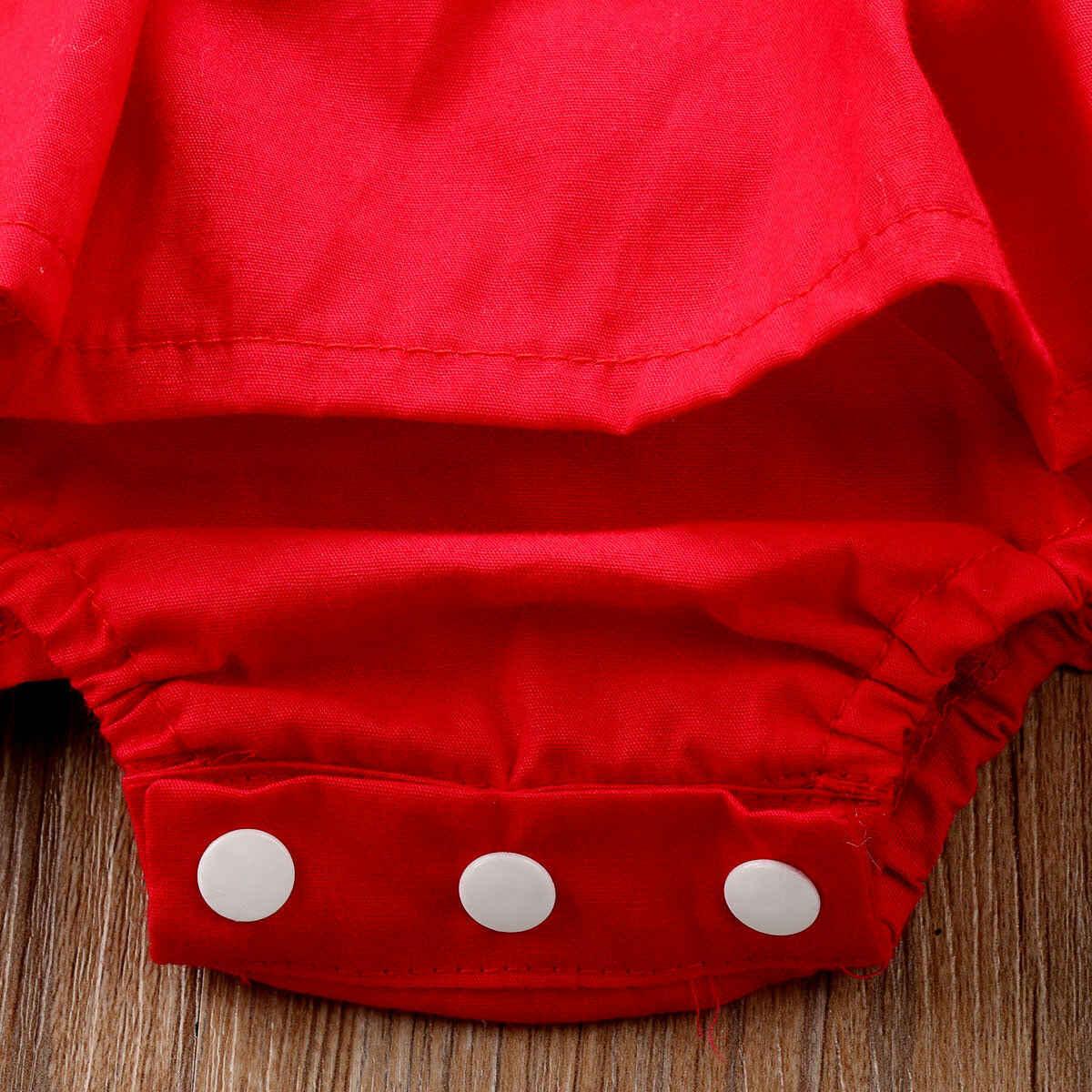 عيد الميلاد كشكش الأحمر الدانتيل الأميرة رومبير اللباس الطفل الفتيات شقيقة عيد الميلاد طفل الوليد الاطفال حزب فساتين زي الملابس 0- 24M