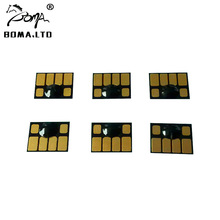 5 Set Resettable Cartridge Chip For HP705 Use For HP Designjet 5100 Printer boma team hp81 hp83 hp705 large format refill ink cartridge for hp designjet 5000 5100 5500 ps 5500 plug plotters without chip