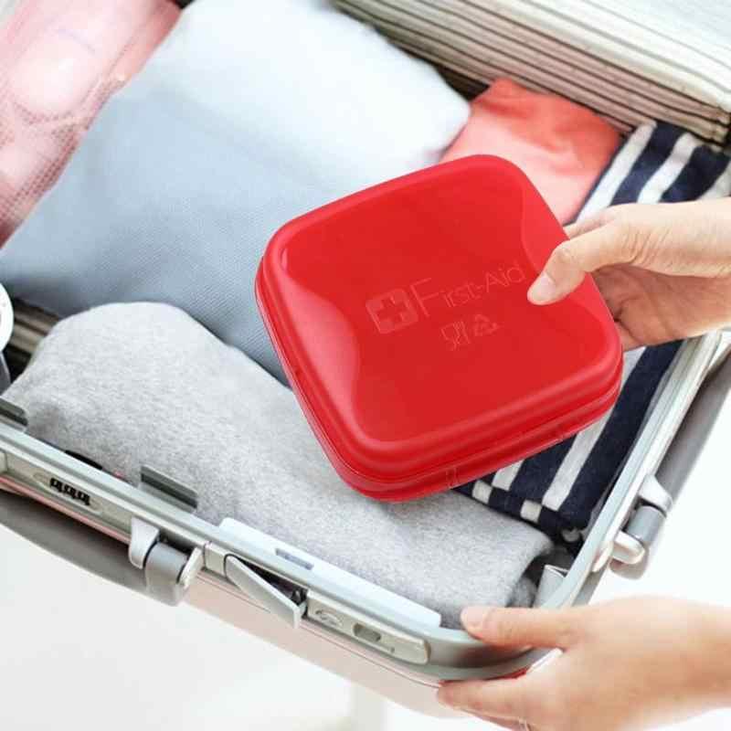 대용량 휴대용 반투명 약물 저장 상자 필 박스 여행 의학 가방 응급 처치 키트 Dropshipping