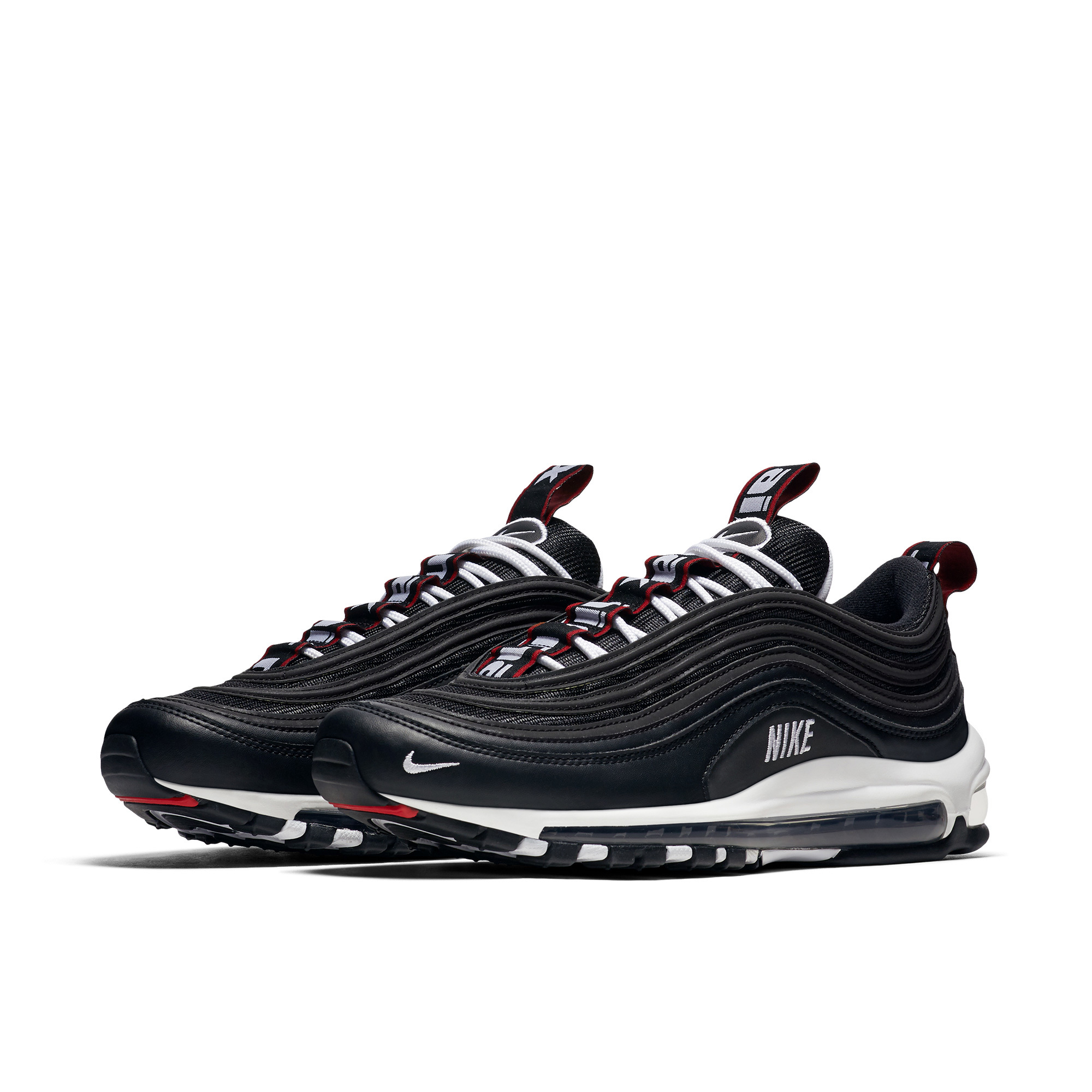 US $65.7 70% OFF|NIKE AIR MAX 97 PREMIUM Men Running Shoes Comfortable Breathable Shock Absorption Sneakers #312834 008 in Running Shoes from Sports &