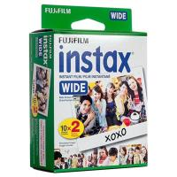 Photo Paper Fujifilm INSTAX Instant Film 5 Inch White Edge WIDE Picture For Camera 200/210/300 X20 Prints Pack