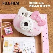 Fujifilm Instax Mini HELLO KITTY anında kamera Fuji 40 yıldönümü Film fotoğraf kağıdı bir kez çekim 10 yaprak