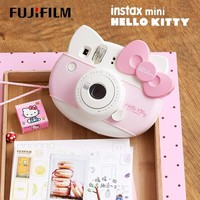 Fujifilm Instax Mini HELLO KITTY Instant Camera Fuji 40 Anniversary Film Photo Paper One Time Shot with 10sheets