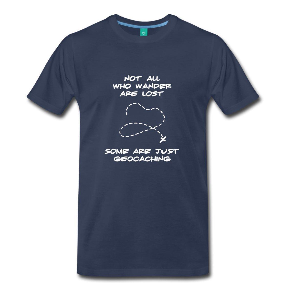 Cartoon Men 39 S Geocaching Crew Neck Short Sleeve Best Friend Shirts in T Shirts from Men 39 s Clothing