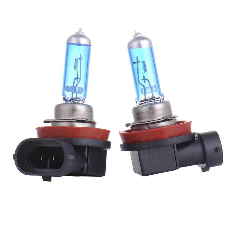 2Pcs 12V 55W 6000K H11 Car Fog Light Bulb Lamp Super White Car Auto Head Lamp H11 Car Styling for Car Headlight Bulb