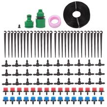 25M DIY Drip Irrigation System Garden Watering System Automatic Watering Hose Adjustable Micro Dripper Kit Garden Watering Kits