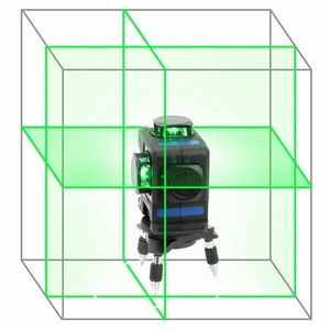 Image 2 - Kaitian 360 Laser Level 532nm Self Leveling Vertical Horizontal Super Powerful Nivel Lasers Receiver Green 12 Lines Lazer Levels